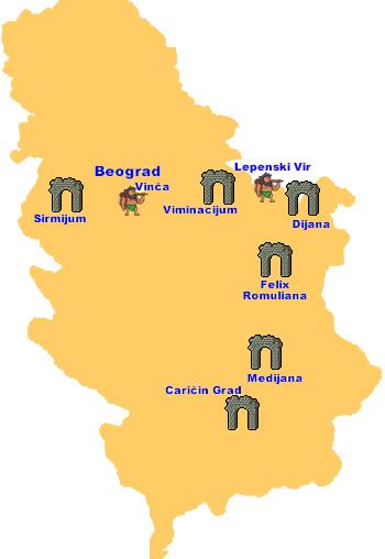 Mapa Srbije Lepenski Vir Superjoden