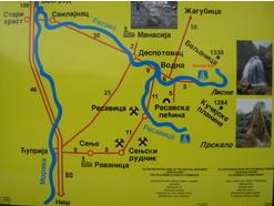 manastir ravanica mapa Manastir Ravanica manastir ravanica mapa