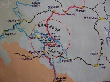 Zlatar Srbija Mapa Superjoden